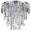 Marquis by Waterford – Bresna LED 3 Light Bathroom Flush Ceiling Light – Chrome