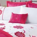 Alexandra Pink Floral Cushion