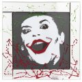 The Joker Mirrored Picture Frame – Silver